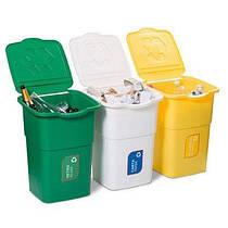 Баки для сортировки мусора