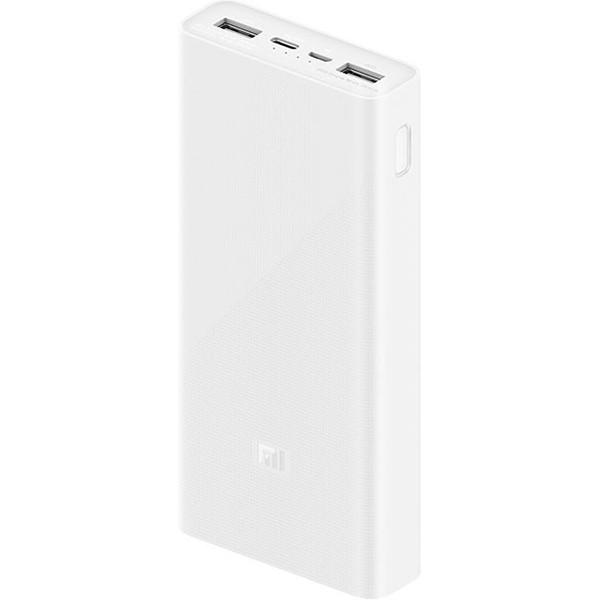 УМБ Xiaomi Mi Power Bank 3 20000mAh Fast Charge 18W White (PLM18ZM) Оригинал