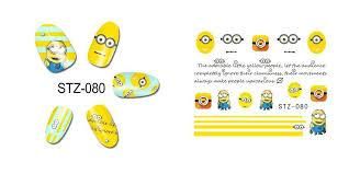 Слайдер-дизайн для ногтей STZ-080  6.2*5.2 см