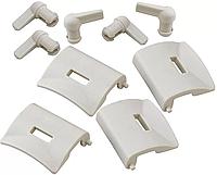 Защелки для переносок Gulliver (39871-39874,39891) серые