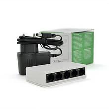 Коммутатор локальной сети Свич на 5 портов до 100 мб\сек PIX-LINK  (Switch)