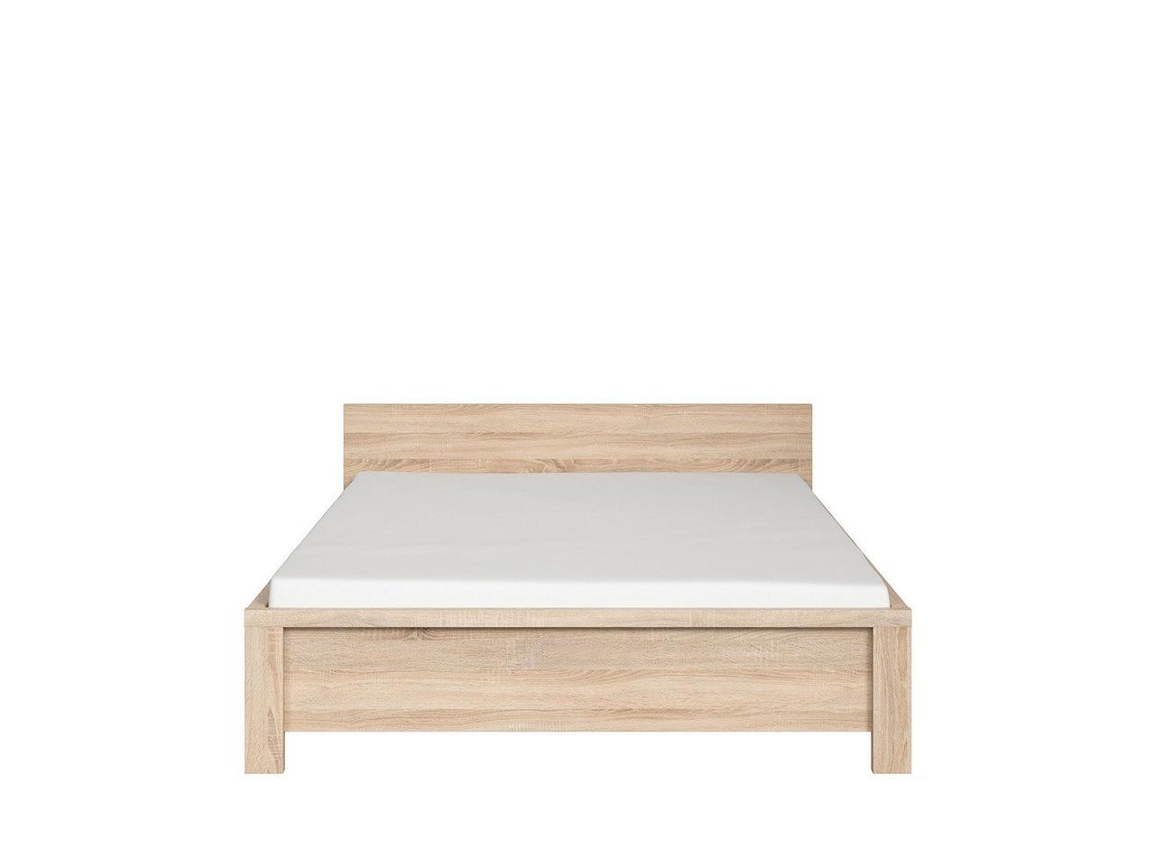 Кровать KASPIAN sonoma LOZ/140
