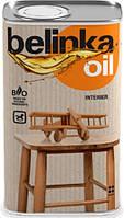 Пропитка для дерева на основі олій та воску Belinka Oil Interier (0,5 л)