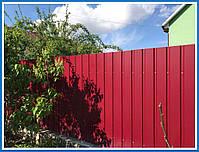 Профнастил стеновой  ПС18 в ассортименте 0,35мм, 0,4мм, 0,45мм, фото 6
