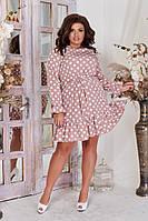 Платье свободного кроя в расцветках 39255