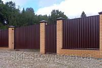 Профнастил стеновой  ПС18 в ассортименте 0,35мм, 0,4мм, 0,45мм, фото 8