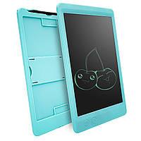 """Планшет для рисования - LCD, с ластиком   (графический планшет) , голубой, 10"""""""