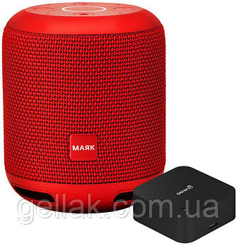 Умная смарт колонка PRESTIGIO PSS101Y RD smart домашний помощник Алиса внутри , красный
