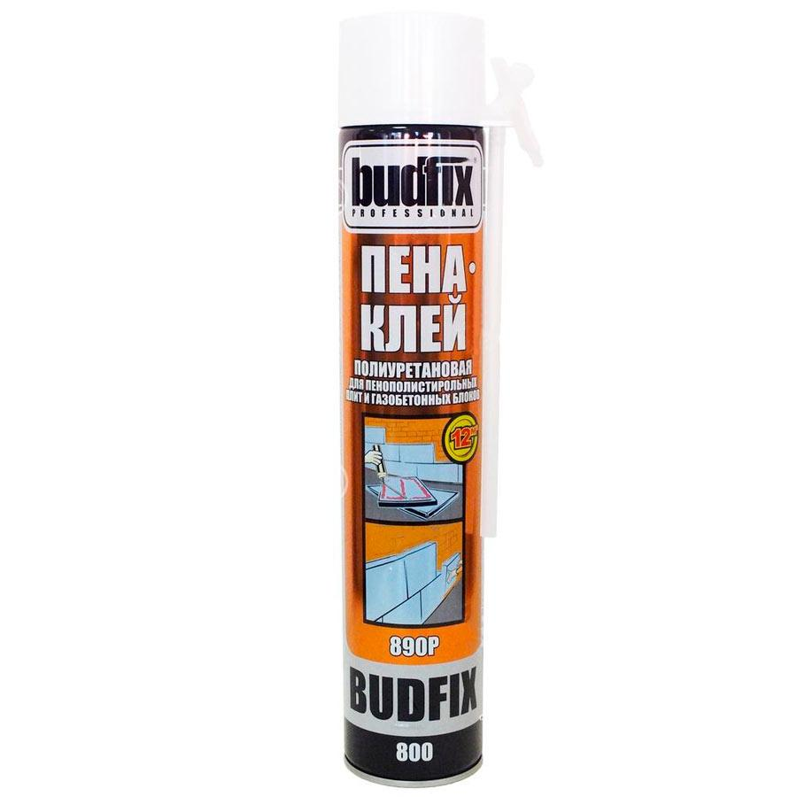 Піна монтажна поліуретанова ручна 800 мл, Budfix 890P (66415)