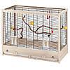 Ferplast Giulietta 6 деревянная клетка для канареек и маленьких птиц (81 x 41 x 64см)