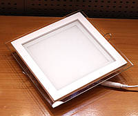 Встраиваемый светодиодный светильник Feron AL2111 20W (со стеклом)