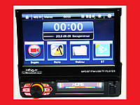 "1din Магнитола Pioneer 7130 RGB 7""сенсорный Экран + USB + Bluetooth - пульт на руль"