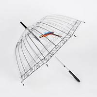 Прозрачный купольный зонт, Зонты, Парасольки, Прозорий купольний парасольку
