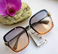 Модные имиджевые солнцезащитные женские очки (0682)
