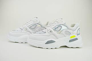 Кроссовки Prima d'Arte 90123 белые, фото 2