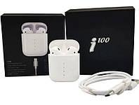 Беспроводные сенсорные наушники TWS i100, фото 1