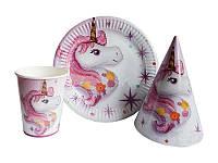 Набор детской посуды «Единорог Волшебный» 30 предметов