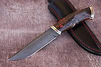 Нож ручной работы  из дамасской стали