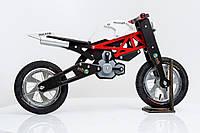 Велобег из дерева мотоцикл Ducatik DaisySign красный Vel-1