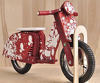 Велобег мотороллер Sofia DaisySign красный Vel-10