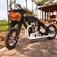 Беговел мотоцикл Bartka DaisySign темно-коричневый Vel-22
