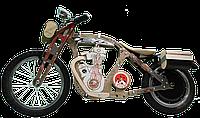 Электробайк, электромотоцикл Teslar DaisySign светло-коричневый Vel-28