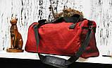 Спортивная сумка Off-White standart красная, фото 2
