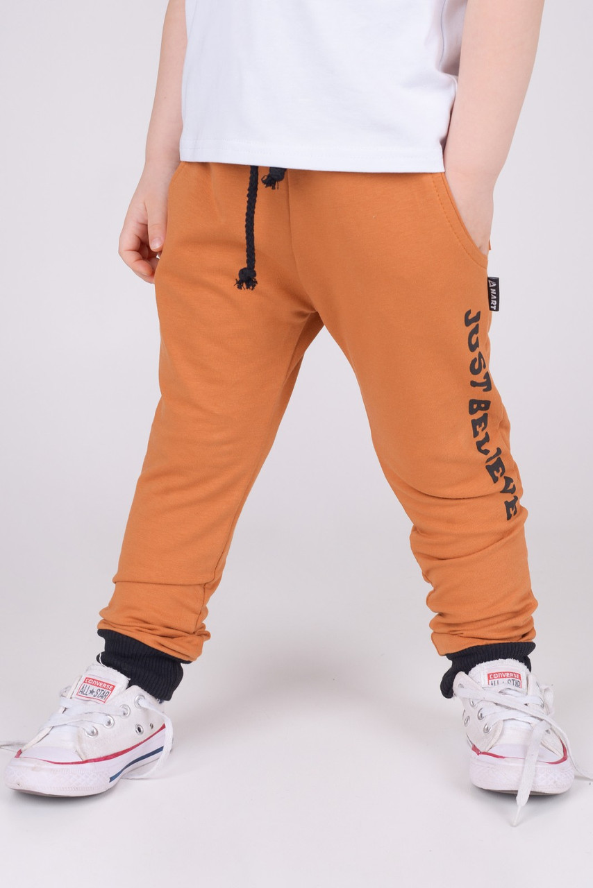 Спортивные штаны для мальчика р. 92 (55 см)