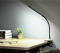 Светодиодная настольная лампа на прищепке XSD 206 24LED  USB, фото 1