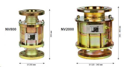 Обратные клапаны NV800 / NV2000 WITT