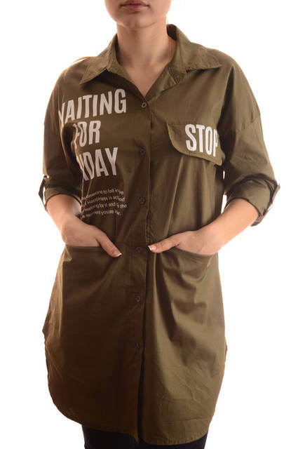 Хлопковые женские рубашки оптом New Collection (лот 4шт по 15Є) 131
