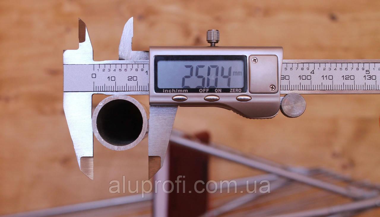 Труба  алюминиевая ф25 мм (25х2мм) АД31Т5