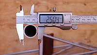 Труба  алюминиевая ф25 мм (25х5мм) АД31Т6, 6060Т6