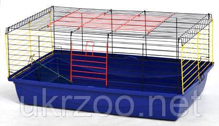 Клетка вольер 100х54х46 см Кролик 100 краска для кролика, грызуна, морской свинки