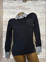 Женская кофта-блузка с воротником размер M (42) СС-5654-10
