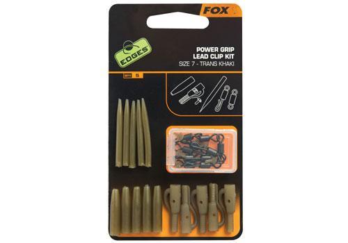 Fox EDGES Power Grip Lead Clip Kit - Набір оснастки безпечна кліпса
