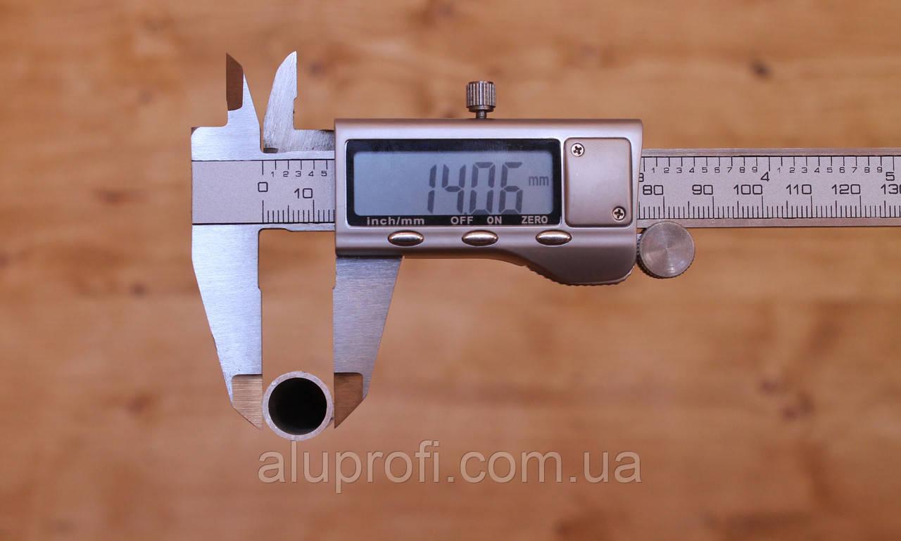 Труба  алюминиевая ф14 мм (14х3мм) АД31Т5