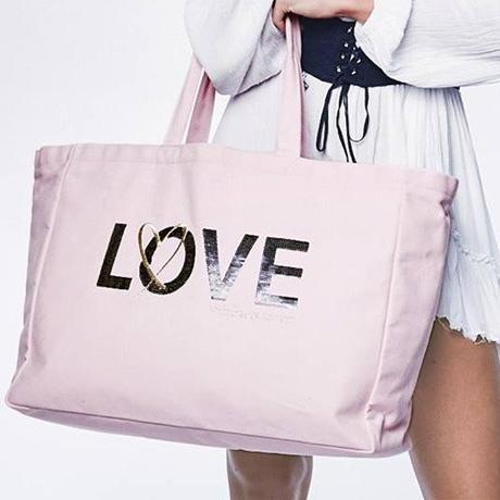 💋 Victoria's Secret Сумка Пляжная с Пайетками Love Bag