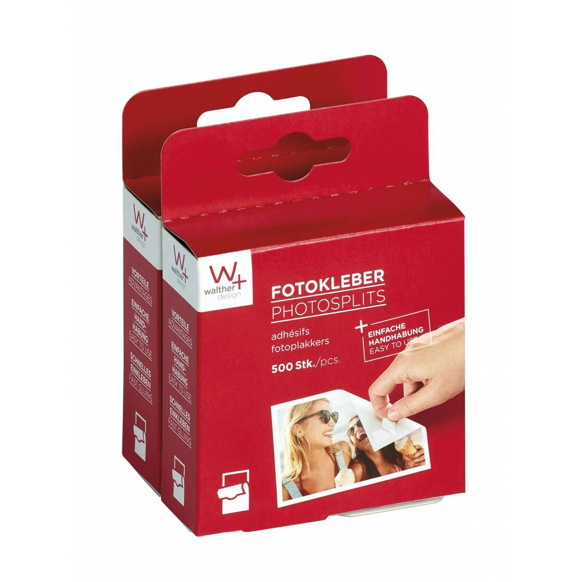 Фотоскотч Walther - 500+500шт/уп. (1000шт)