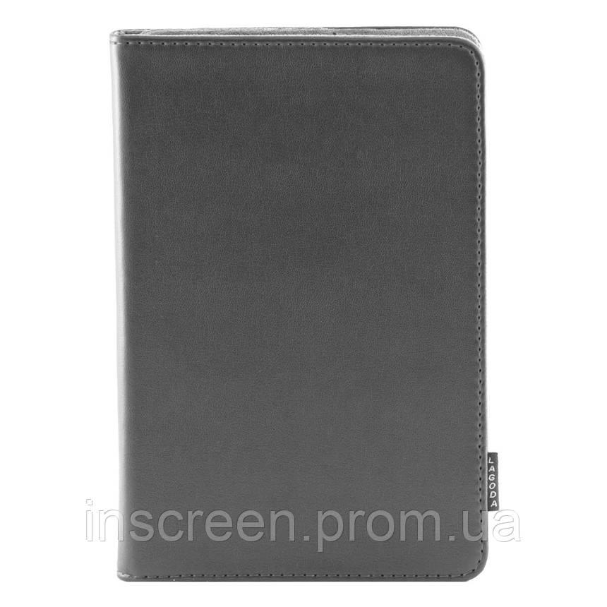 Чохол-книжка Lagoda 360 Clip stand 6-8 сірий, фото 2