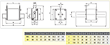 Предохранитель ETI M00CUQU-N gR 125A 690V 50kA 4331029 ножевой сверхбыстрый (NH-00C), фото 2
