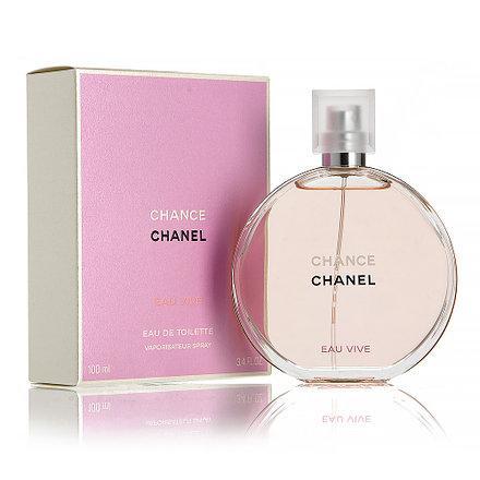 Французький жіночий аромат CHANEL Chance Eau Vive туалетна вода 50ml, квітковий деревинно-мускусний ОРИГІНАЛ