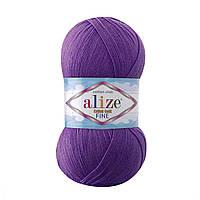 Alize Cotton Gold Fine № 44 темно-фиолетовый