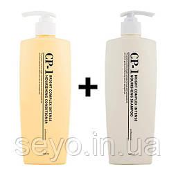Набор средств для волос от Esthetic House CP-1 B/C Intense Nourishing (шампунь и кондиционер), 1000 мл