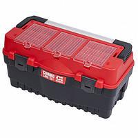 """Ящик для инструментов S700 CARBO RED 25.5"""" QBRICK SYSTEM SKRS700FCPZCZEPG001 (Польша)"""