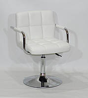 Кресло Arno Arm CH Base экокожа, белый