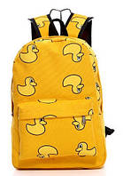 Рюкзак школьный, подростковый с Утками.