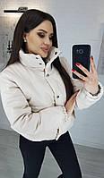 Куртка женская кожаная в расцветках 39261, фото 1