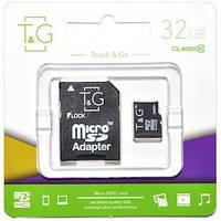 Карта памяти T&G 32GB class 10 (UHS-1) (с адаптером)