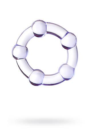 Эрекционное кольцо Toyfa A-Toys, силикон, фиолетовое, фото 2